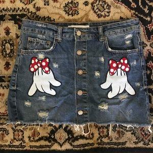 ✨❤️Disney x Zara Minnie skirt size S